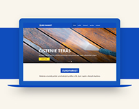 EuroParket.sk - Parquetes website