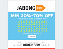 Jabong NewsLetter