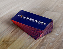 Balanced Works Logo Design