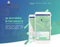 Layout for scooter app