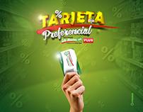 Tarjeta preferencial | Supermercado Los Montes