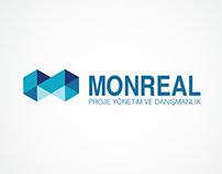 Monreal Proje Yonetim Logo, Kurumsal Kimlik, Web Sitesi