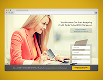 Charge.com - Landing Page