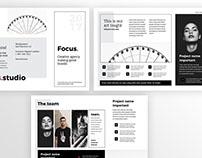 Focus - Agency 3fold Brochure