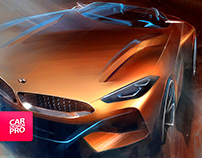 NEW BMW Z4 Concept - The Design [video]