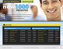 Job o Jet Website Interface (2012)