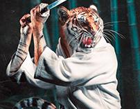 Kendo Tiger • Photoshop Manipulation