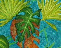 Philodendron leaves 2