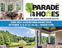 2015 Parade of Homes annual magazine