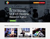 Stoman Portfolio/Website Design - UI/UX