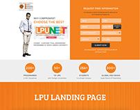 LPU Landing Page