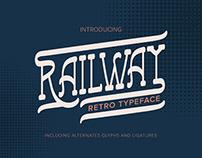 Railway Retro Font