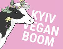 Vegan boom Festival Identity