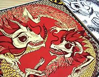Dragones Yin Yang
