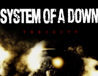 REDESIGN CD - Toxicity (System Of A Down)