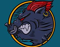 Warthog - Mascot Vector Series. It's for fun