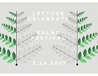 Salad Festival Poster Design