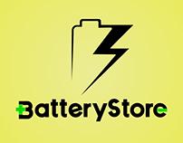 Logo Battery Store