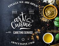 Art Cuisine Logo Presentation