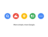 Hello Google - Homepage Project Redesign