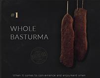 DAVIDIANS Armenian Basturma / logo, web design