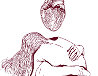 "KELEVRA - ""Cronache per poveri amanti"" Album T-shirt."