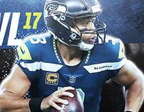 Seattle Seahawks Pro Bowl Design