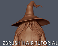 Zbrush Hair Tutorial