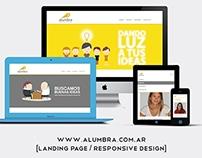 Alumbra | web design