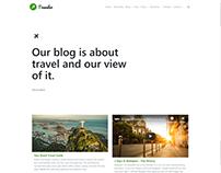 Blog Style - Traveler WordPress Theme