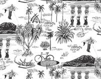 All over print - Pandan Bali X Reckon
