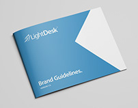 LightDesk logo and brand document