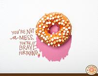 Good Dough Doughnuts (Advertising Campaign) 2017