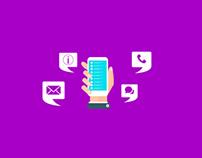 Akosha Mobile App Launch Banners