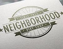 Neighborhood Bike Shop Logo