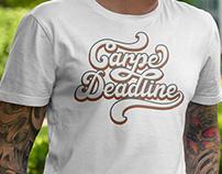 Carpe deadline I Handlettering T-Shirt
