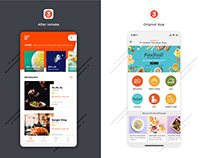 A food delivery mobile application remake!