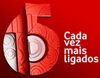 Vodacom 15 anos - Logo
