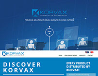 Korvax, Website Design and Development