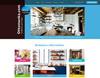 Web site for furniture salon