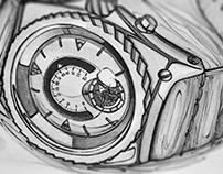 TIMEPIECES - Sketchbook (design concepts)