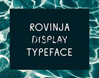 Rovinja Display Typeface