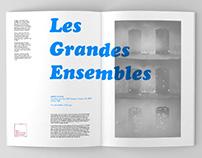 Les Grandes Ensembles - Exhibition Catalog