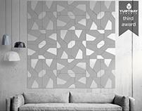Fractus Ceramic Tile Design