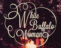 White Buffalo Woman Logo and Album Covers