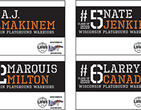 WI Playground Warriors Name Tags