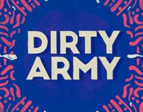 DIRTY ARMY - ALBUM ART