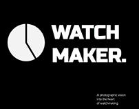 WATCH MAKER Website Design