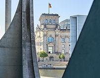 Reichstag & Marie Elisabeth Lüders Haus - Berlin