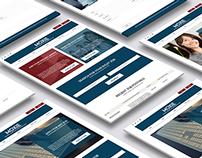 Moxie Job Portal Website Concept